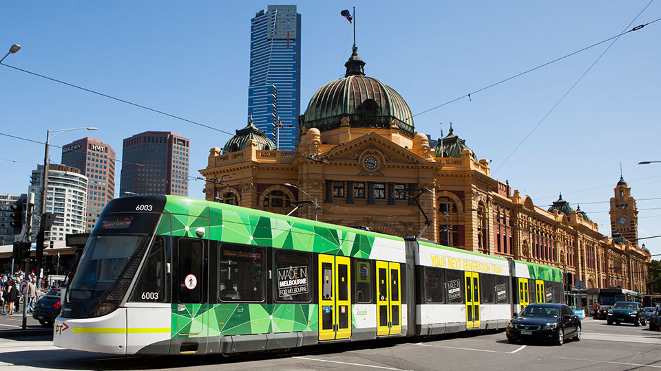 Yarra Trams Automatic Vehicle Monitoring Integration
