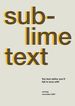Iop Poster Sublime Text